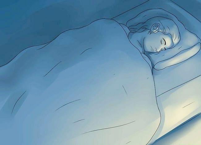Prent getiteld Kry terug na slaap na toevallig wakker te vroeg stap 1