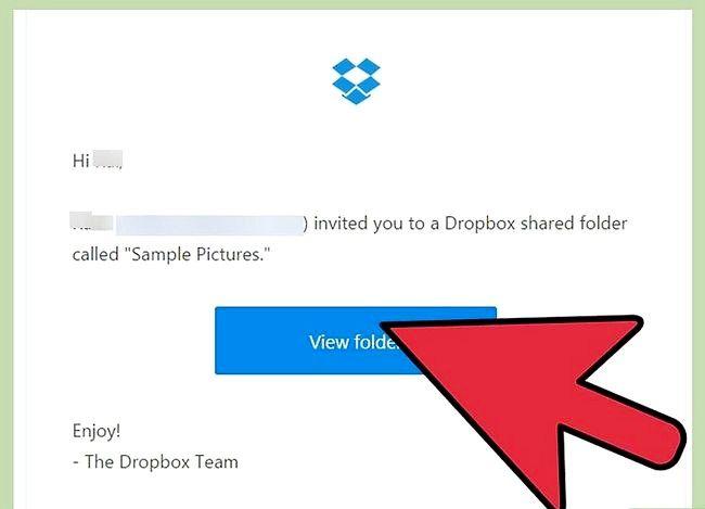 Prent getiteld Hersien `n gedeelde vouer verwyder op Dropbox Stap 6